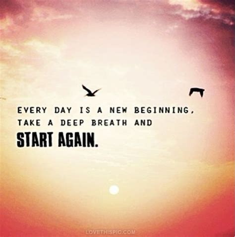 every day is a new beginning pictures photos and images