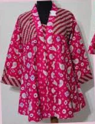 desain baju batik ibu hamil 15 model baju hamil batik kerja muslim terbaru