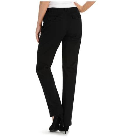 lee comfort fit pants lee 174 women s 30 quot comfort fit carden straight leg pants