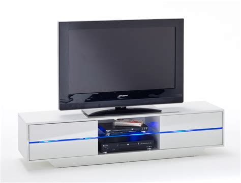 tv led beleuchtung lowboard jazz 160x36x40 cm wei 223 tv board tv m 246 bel led