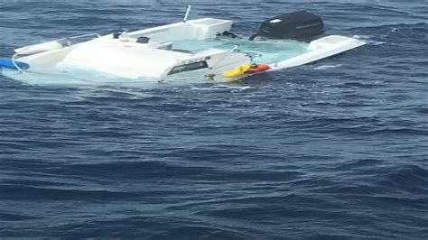 sinking boat florida man missing for more than 2 weeks rescued from sinking boat