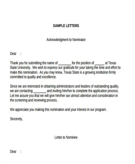 thank you letter business award thank you letter format free premium templates