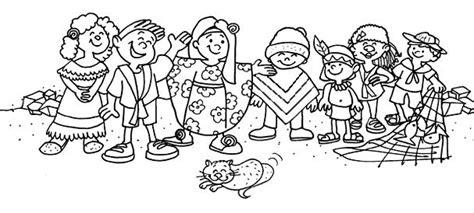 imagenes de niños jugando en grupo para colorear grupo de amigos para colorear imagui