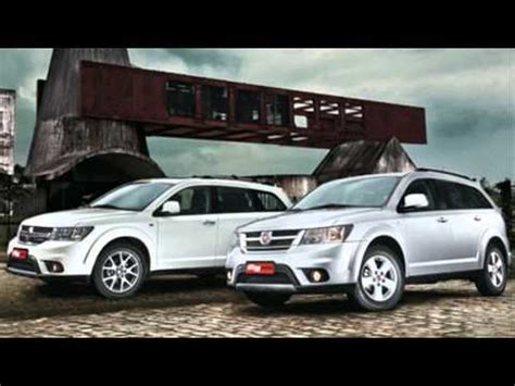 fiat freemont vs dodge fiat freemont dodge journey youtube