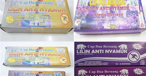 1 Set Sticker Anti Nyamuk Isi 6 Tahan Tahan 72 Jam lilin pengusir serangga anti nyamuk pabrik lilin indonesia