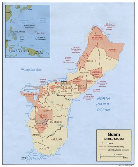 map of guam guam maps perry casta 241 eda map collection ut library