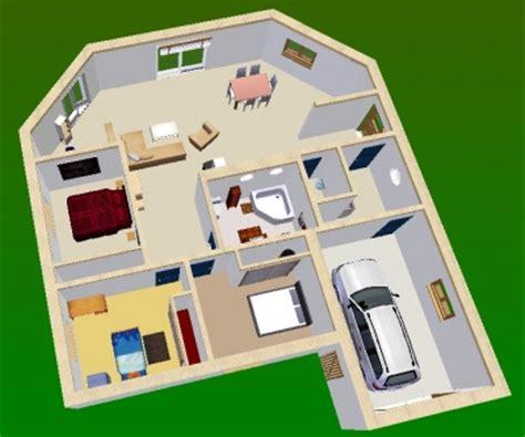 maison minecraft plan 3d plan de maison 3d
