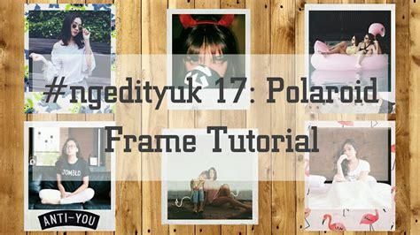 tutorial vsco ala selebgram cara mengedit foto dengan menambahkan frame polaroid ala