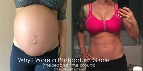 why i wore a postpartum girdle the second time around diary of a fit