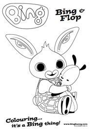 bing bunny coloring page 11 best images about bing colouring sheets on pinterest