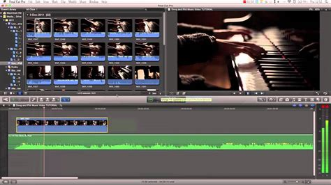 final cut pro youtube upload final cut pro x tutorial pt 22 how to cut a music video