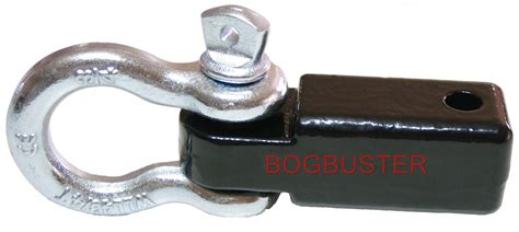 T Max Bow Omega Shackle 3 4 Galvanised Kapasitas 4 Berkualitas bogbuster recovery hitch receiver tow bar hook 4 75 t bow
