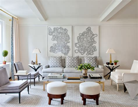 gray living room ideas photos architectural digest a serene new york apartment that s both stylish and