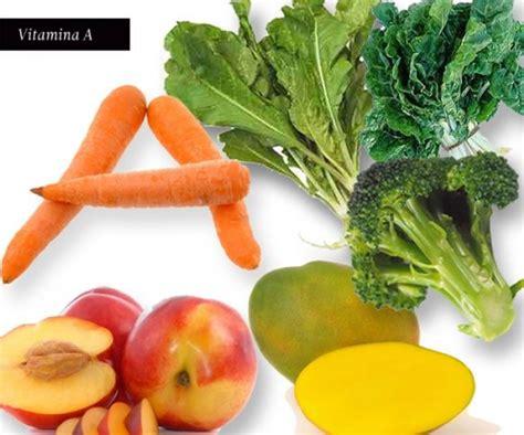 alimentos con vit a vitamina a para una piel suave y sana