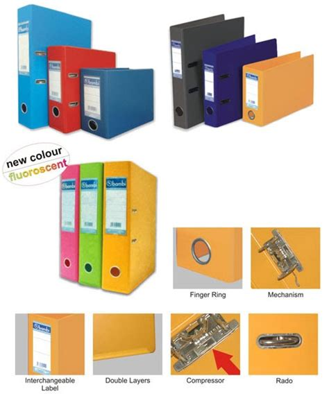 Dijamin Odner Bantex 1466 Odner Folio Lebar 5 Cm gm supplies odner