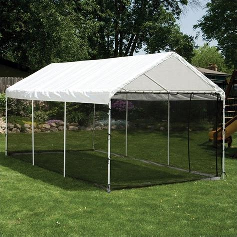 Screen Room Kits by Shelterlogic 10 X20 Max Ap 2 In 1 Canopy Pack W Screen