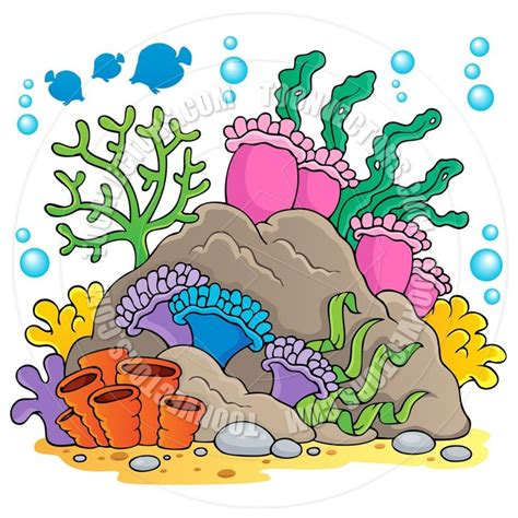 Coral Reef Clipart coral coral reef clip http www toonvectors