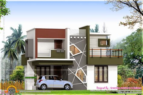 low budget kerala villa home design floor plans building