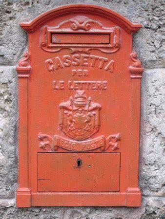 cassetta di sicurezza poste cassetta per le lettere delle regie poste filippo foto
