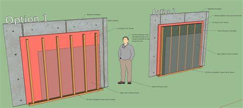 Smart Ideas Insulating Basement Wall Basement Wall Magnificent Home Design