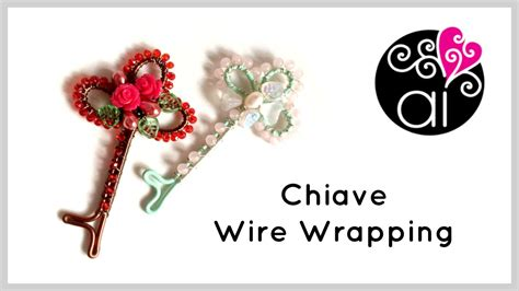 youtube tutorial wire wrapping tutorial easy wire wrapped key diy wire wrapping key