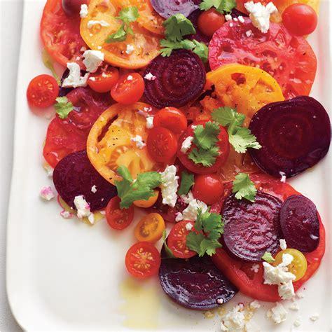 Valentine Day Home Decor Tomato Beet Salad