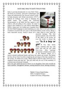 Save The Child Essay In by Save Child To Save Your Future