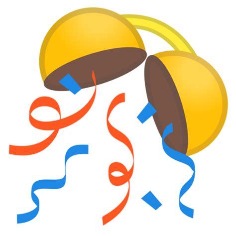 celebration emoji png konfettiball emoji