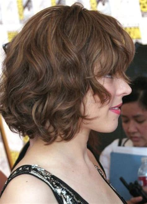 how to style a wavy bob 10 fabulous short hairstyles for fine hair olixe style