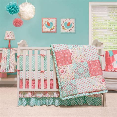 coral and turquoise baby bedding 25 best ideas about coral and turquoise bedding on