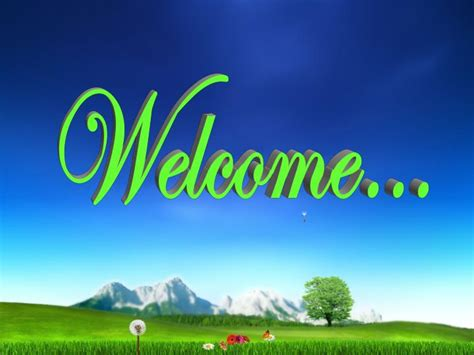 welcome slides for ppt presentation ppt welcome powerpoint presentation id 2005038