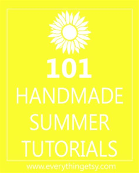 diy summer crafts for diy crafts 101 handmade summer tutorials