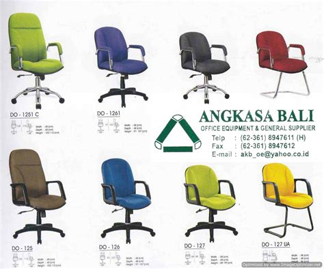 Kursi Kantor Bali angkasa bali furniture distributor kursi meja kantor bali