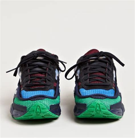 raf simons shoes blue raf simons mens ozweego 2 running sneakers in multicolor for blue lyst