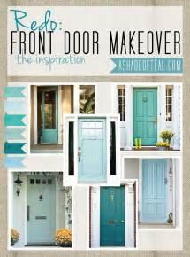 Blue Front Door Meaning Aqua Front Doors On Front Door Makeover Turquoise Front Doors And Teal Front Doors