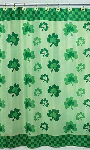 shamrock shower curtain shamrock shower curtain