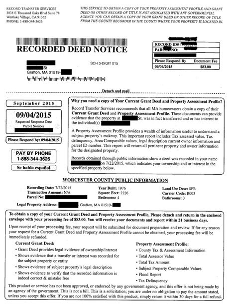 Nyc Property Tax Records Quot Recorded Deed Notice Quot It S All Hooey Ingle