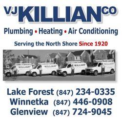 Killian Plumbing by Vj Killian Co Plumbing 1941 Johns Dr Glenview Il