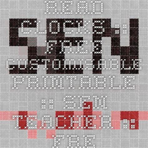 sen printable clocks 1000 images about klokkijken on pinterest blank clock