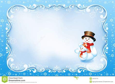 Snowman Birthday Card