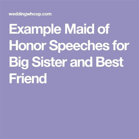 Sle Of Of Honor Speeches For Best Friend 25 best ideas about wedding speeches on