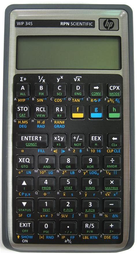 calculator open wp 34s scientific calculator cool tools