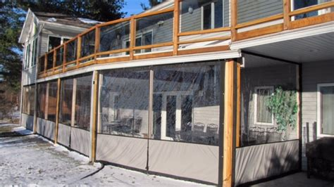 clear vinyl plastic enclosures for porch patio