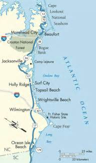 carolina map of coast sc after beaufort nc stop at south of the border maybe