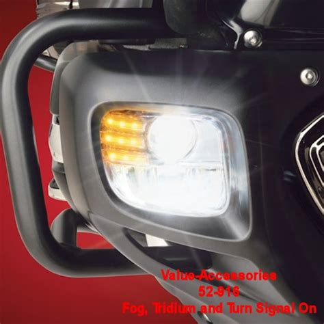honda goldwing led lights tridium led lower fog turn signal light kit gl 1800 gold