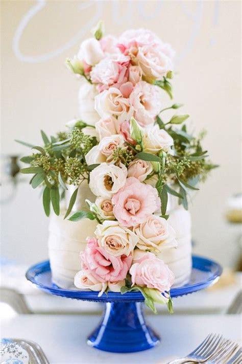cobalt blue  pink wedding