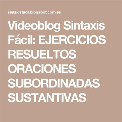 videoblog sintaxis f cil ejercicios de oraciones subordinadas mejores 15 im 225 genes de carteles del d 237 a internacional del
