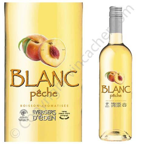 vin blanc a la peche