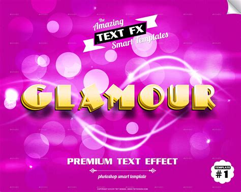 text effect template text effect smart object templates by ecoverdesign