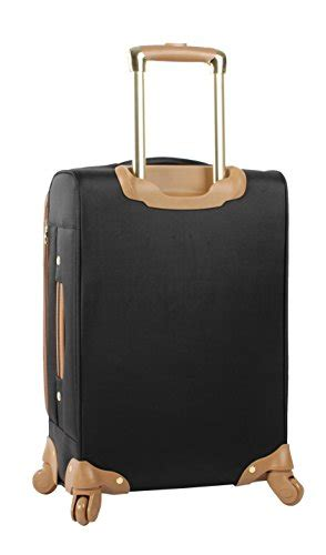 steve madden luggage carry on 20 quot expandable softside suitcase with spinner wheels luggage only